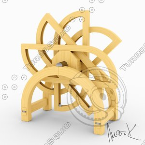 3D perpetuum mobile