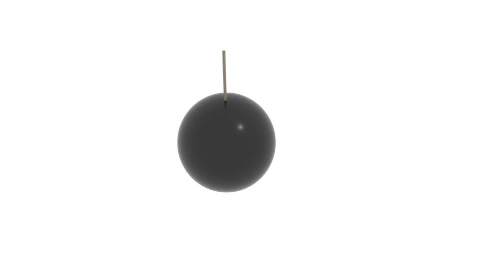 bomb simple 3D model
