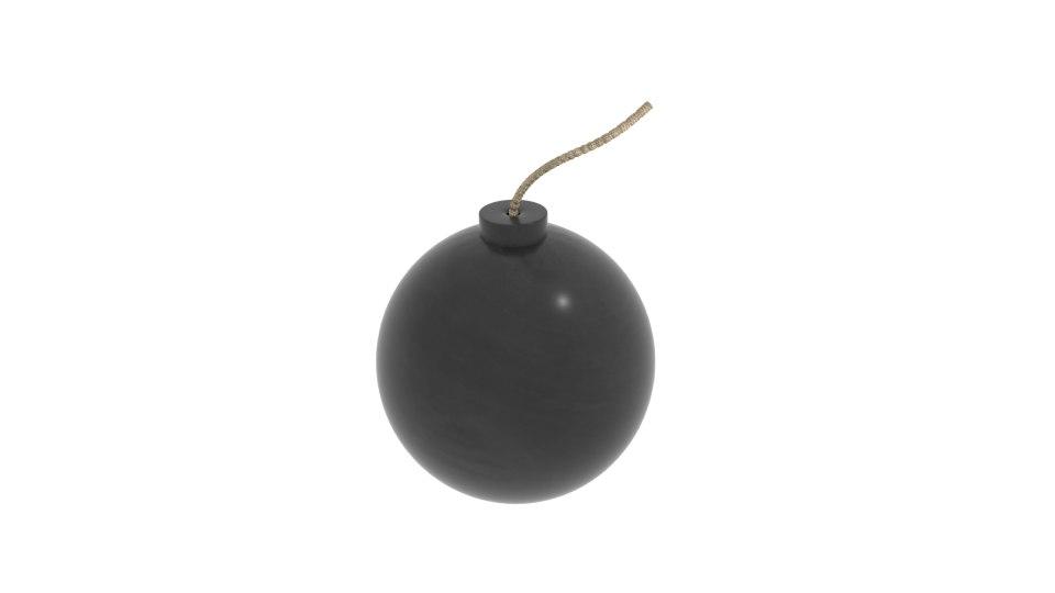 bomb bom 3D