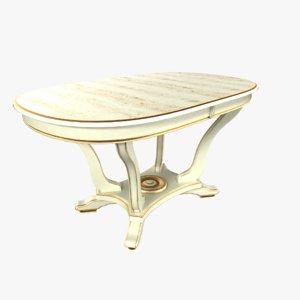 table trento 3D model