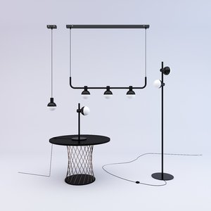 3D heals fabian chandelier 3