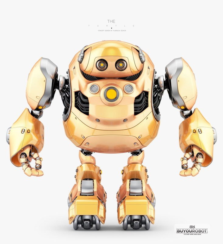 3D robotic turtle animation