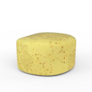 3D bath sponge
