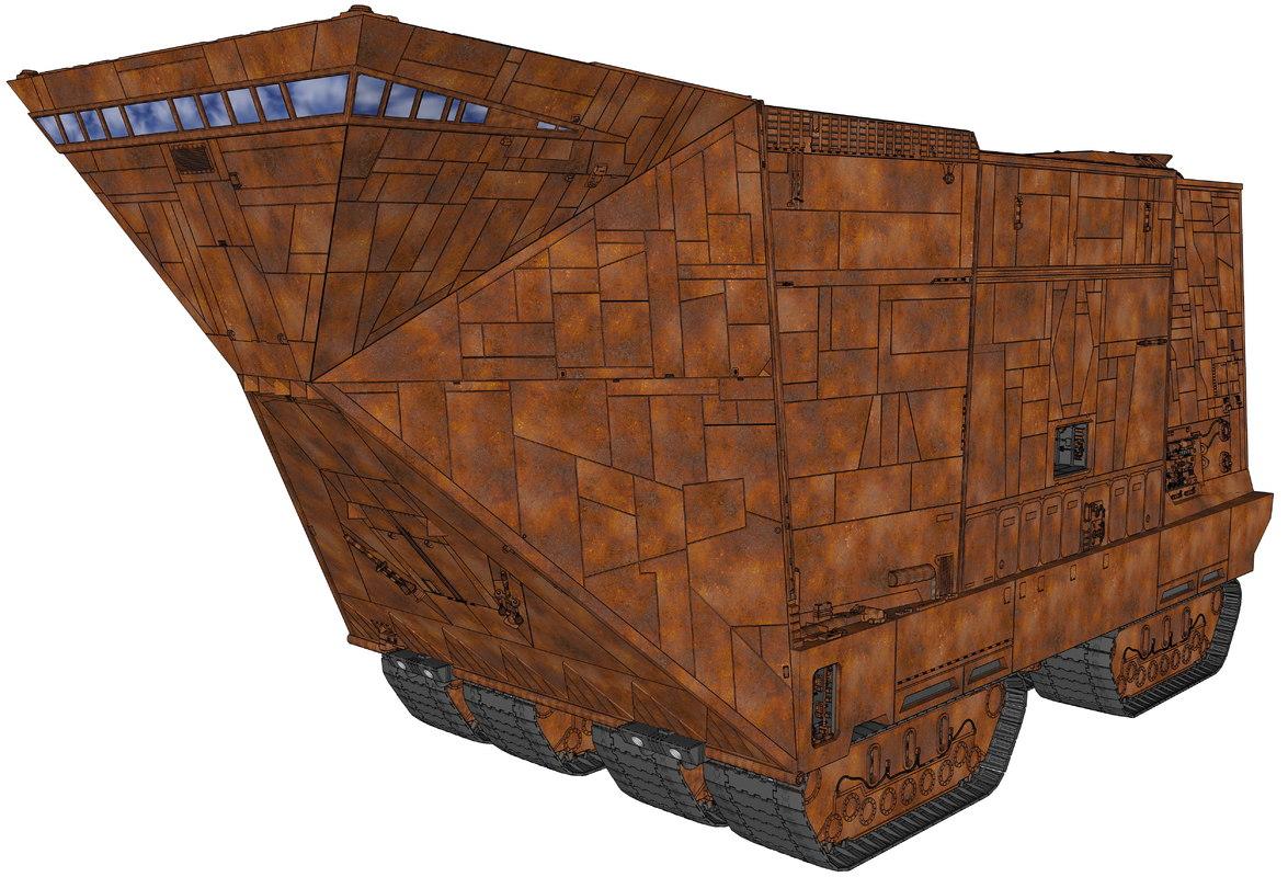java star wars 3D