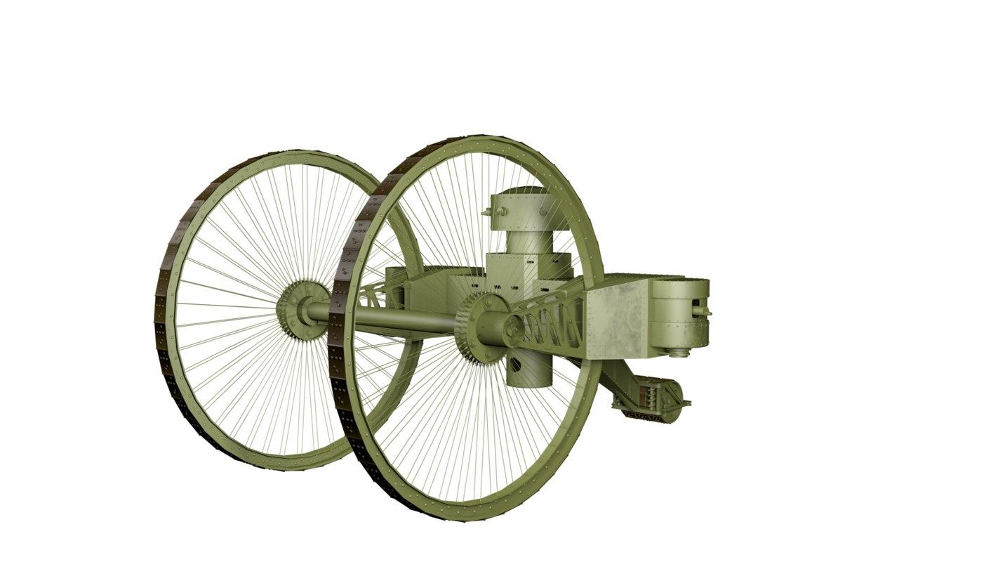 tsar tank 3D model