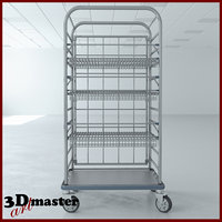 3D medical multi purpose cart