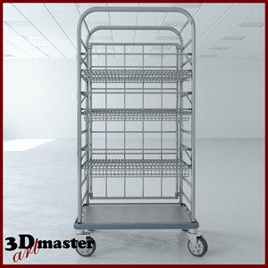 3D medical multi purpose cart