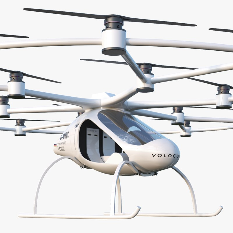 volocopter vc200 3D