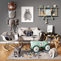 Children room set 03