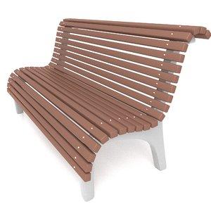 bench 3D model