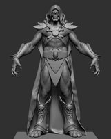 skeletor anatomy zbrush model