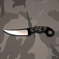Jens Anso Custom knife
