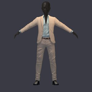 3D model avatar pants shirt