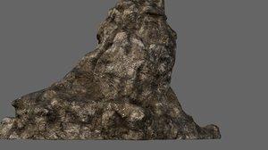 mount mountain 3D model