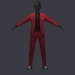 avatar pants shirt 3D model