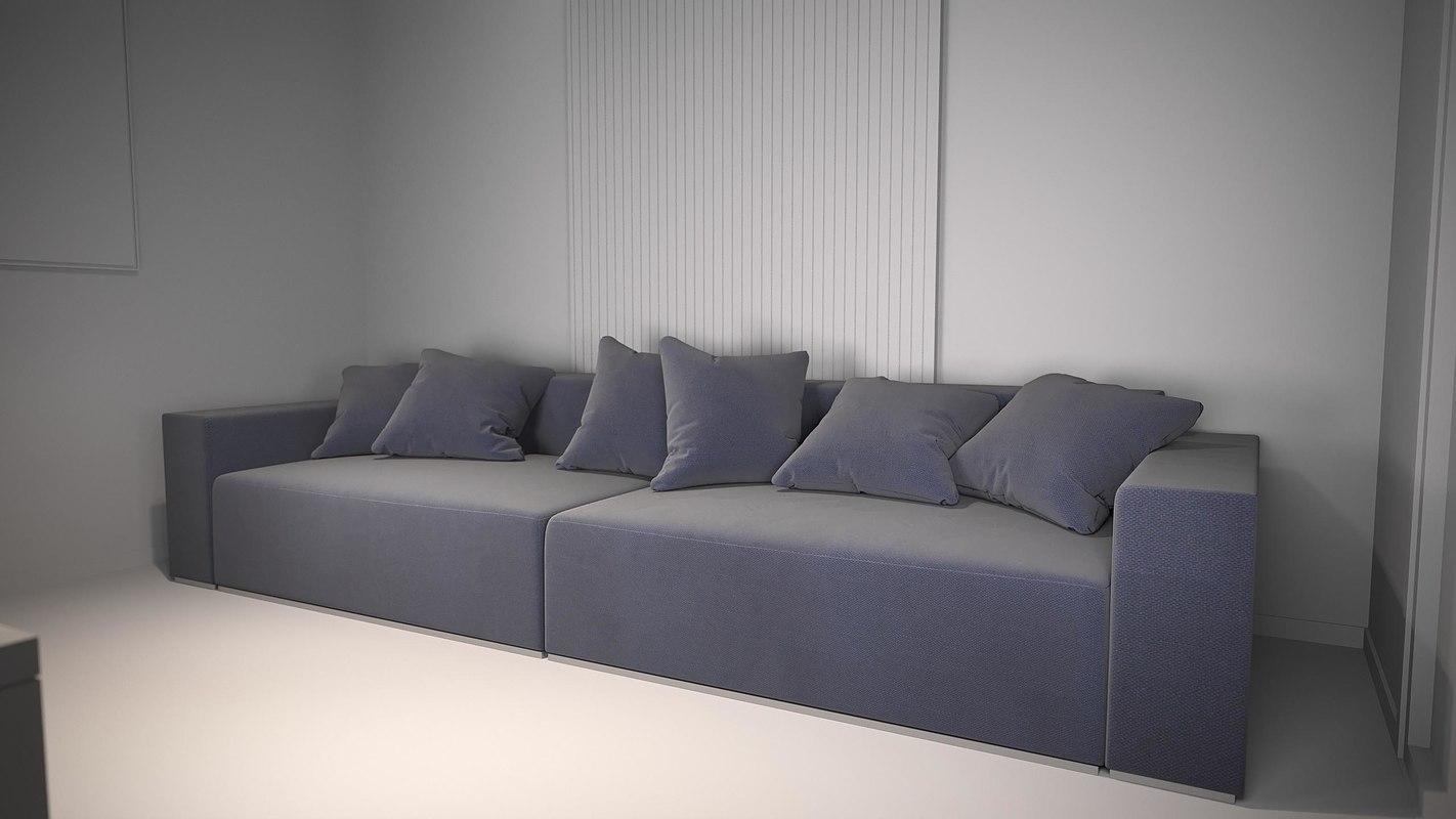 3D sofa change model