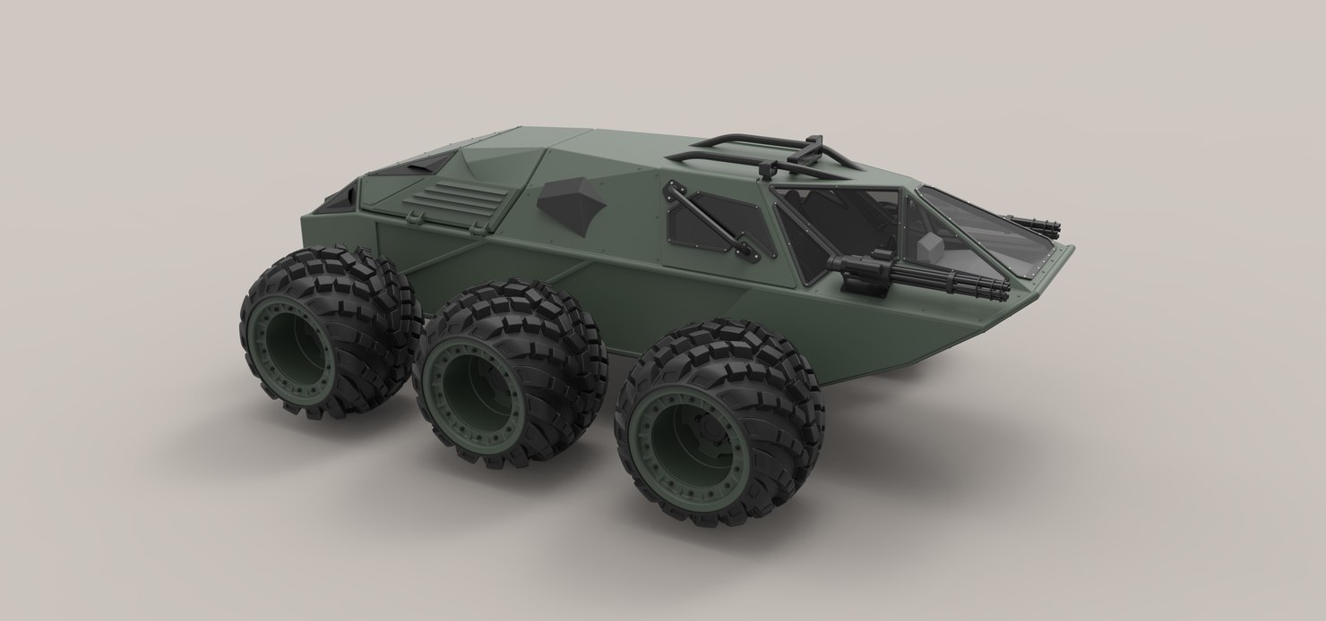 vehicle military concept model