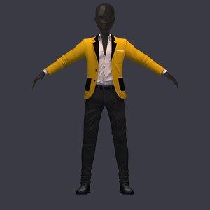 3D avatar pants shirt