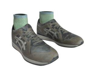 feet shoes 3D model