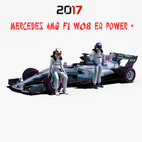Mercedes AMG F1 W08 EQ Power +