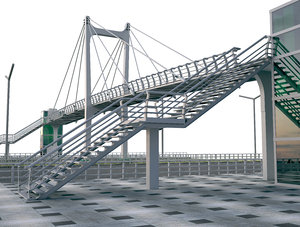pedestrian bridge 3D