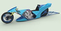 bikes fuel 3D model