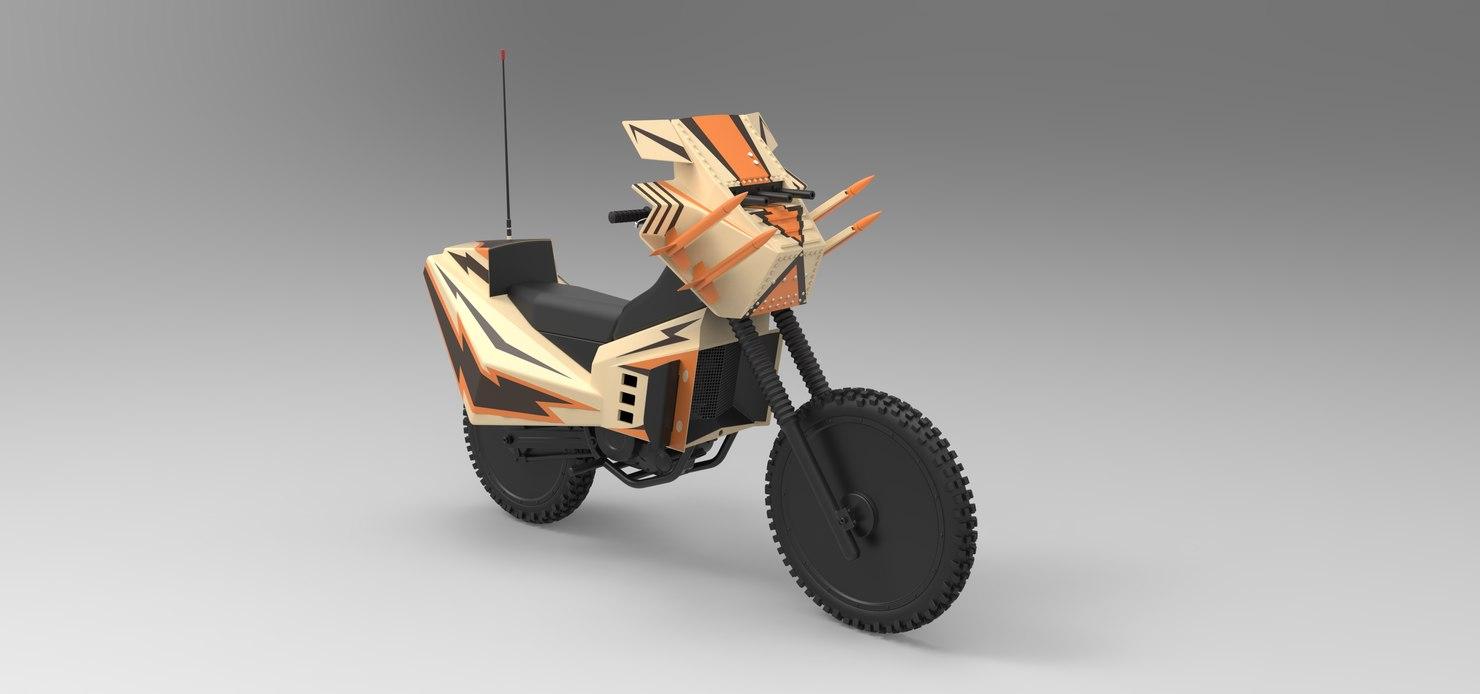3D bike megaforce