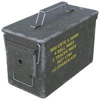 3D ammunition box 1