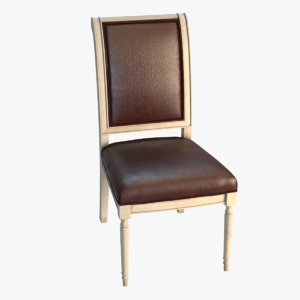 padded dining chair model