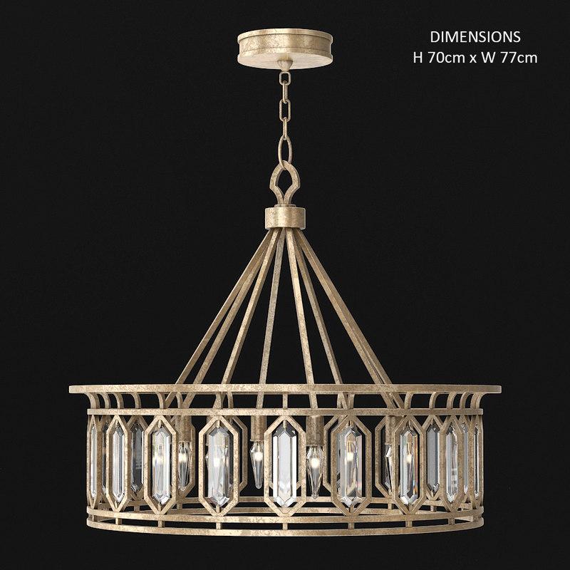 3D fine art lamps westminster model