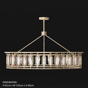 fine art lamps westminster 3D model