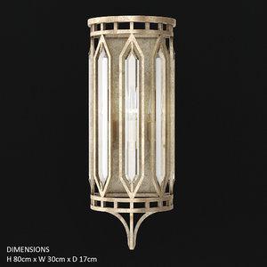 fine art lamps westminster 3D