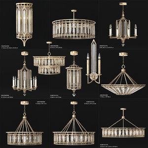 3D model fine art lamps westminster