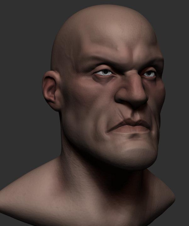 3D base stylized model