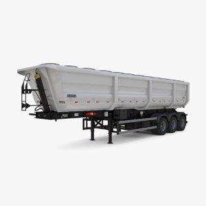 dump trailer randon 2016 3D model