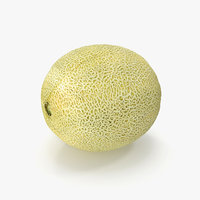 honeydew melon 3D
