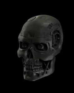3dprintable terminator 3D model