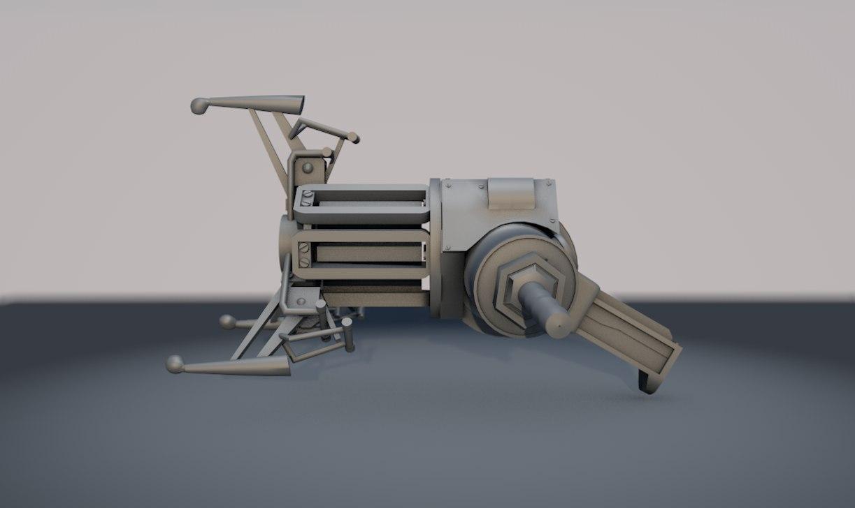 3D model half-life 2 gravity