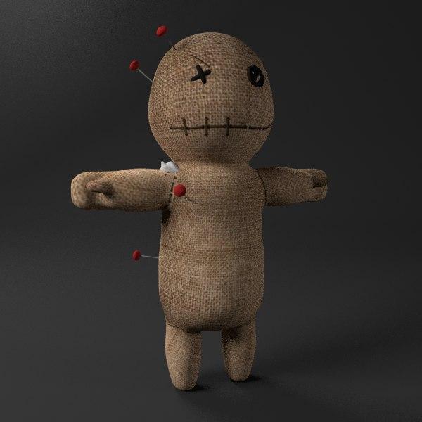 voodoo doll 3D model