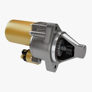 3D starter engines model