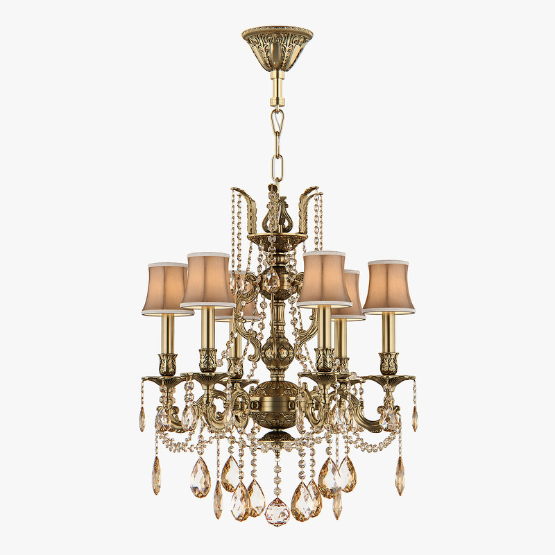 chandelier md 6655-6 osgona 3D model