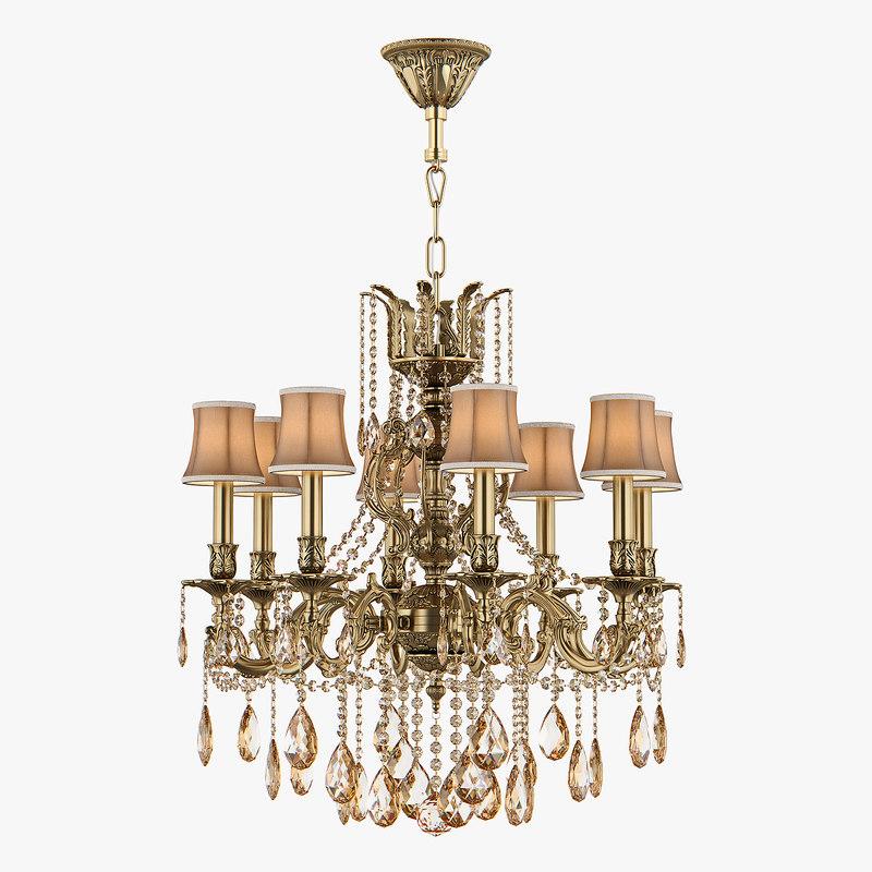 3D chandelier md 6655-8 osgona