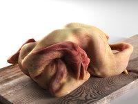 meat chopping board 3 model