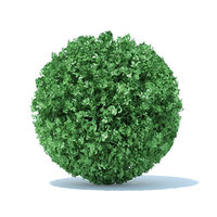 3D model spherical hedge