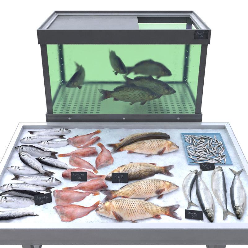 3D fish counter