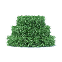 3D cake shaped hedge model