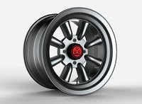 3D model watanabe rs wheel