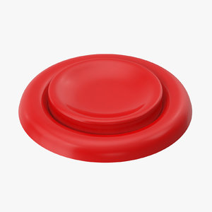 button 04 red 3D model