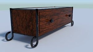 3D duo drawer