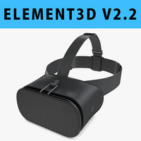E3D - 3D New Google Daydream View VR 2017 Headset